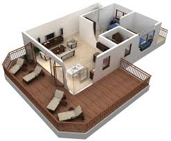 one bedroom apartment floor plans 3d google search sims ideas
