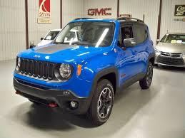 jeep renegade sierra blue 2015 jeep renegade trailhawk 4x4