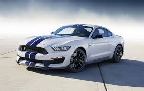 ford mustang gt white stripes 2015 ford shelby gt350 revealed most powerful na ford