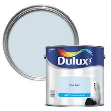 dulux blue opal matt emulsion paint 2 5l bedrooms attic