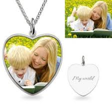 get name necklace photo engraved necklace