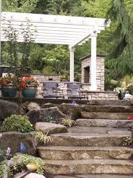Rock Garden Bellevue by Outdoor Kitchen Designed By Bellevue Landscaper Environmental