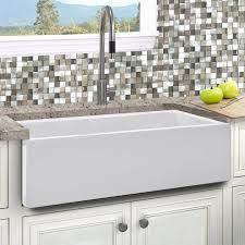 33 inch farmhouse kitchen sink italian fireclay 33 inch reversible farmhouse kitchen sink free