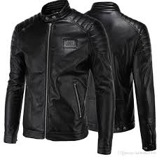discount leather motorcycle jackets leather jackets for men 2017 high end locomotive zipper slim fit