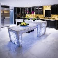 Futuristic Kitchen Designs Kitchen Designs 6 Backlit Kitchen Countertop 25 Unique Kitchen