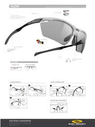 user manuals eyewear and goggles rudy project rudy project