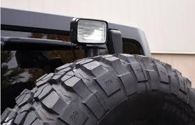 jeep wrangler backup lights aev ipf 8161 backup light pdx overlanding