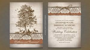 burlap wedding invitations read more tree burlap lace rustic country wedding invitation