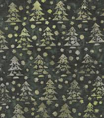 Batik Upholstery Fabric Green Pine Trees Cotton Batik Fabric By Maker U0027s Holiday Joann