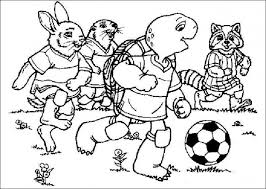 Soccer Coloring Pages 1 Coloring Kids Soccer Coloring Page