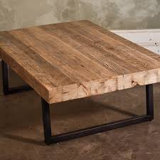 coffee table wood coffee table with steel pipe legs made of