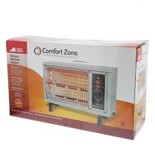 patio comfort heaters comfort zone 5 120 btu electric radiant heater gray cz530wm