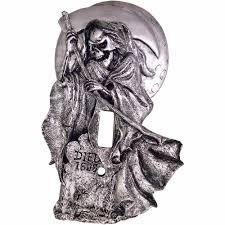 grim reaper light switch cover halloween decoration walmart com