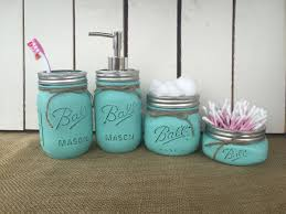 Mason Jar Bathroom Storage by Groopdealz Mason Jar Bathroom Vanity Set
