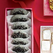 black sesame cookies recipe chatelaine com
