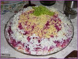 sp cialit russe cuisine recette hareng en fourrure plat typique du nouvel an russe