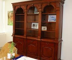 Arched Bookcase Queens Fine Furniture
