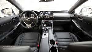lexus white interior lexus is 300h f sport review autoevolution