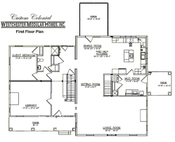 Colonial Floor Plans Custom Colonial 3 By Westchester Modular Homes Two Story Floorplan