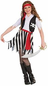 halloween costumes fancy dress lady buccaneer pirate costume