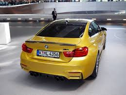 Bmw M3 Yellow 2016 - bmw m4 competition package gets m performance parts as well