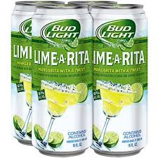 how much is a six pack of bud light bud light lime lime a rita 4 pack 16 fl oz cans walmart com