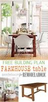 remodelaholic build a farmhouse dining table add some rustic style to your home with this gorgeous farmhouse dining table seats 6
