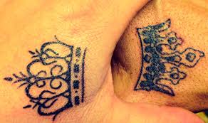 tattoo couple king and queen hand tattoo king and queen danesharacmc com