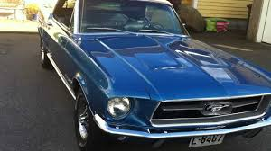 1967 blue mustang 1967 mustang acapulco blue by missouri mustang