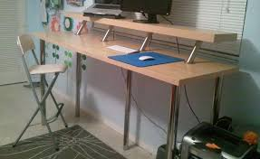 Diy Bike Desk Top 10 Most Popular Ikea Hacks Lifehacker Australia