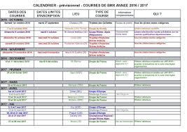 Calendrier Fdration Franaise De Fédération Page 2 Bmx Portes Les Valence