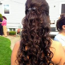 prom hairstyles prom half up half down hairstyles