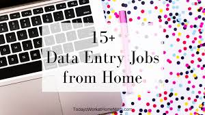 Graphics Design Jobs At Home 15 Data Entry Jobs From Home Todays Work At Home Mom