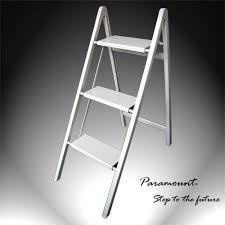 ultra slim aluminum 3 step stool 220 pounds load capacity id