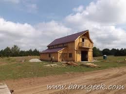 22x50 gable barn plans w 10x40 porch