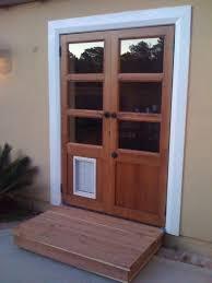 Patio Doors With Side Windows by French Patio Doors With Doggie Door Images Glass Door Interior
