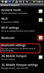 bluetooth settings android pairing the your scale with your android phone btscale
