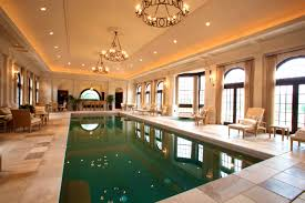 bedroom delectable indoor swimming pools house interior