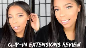 Aliexpress Com Hair Extensions by Clip In Hair Extensions 22 Inches Aliexpress Hair Review Youtube