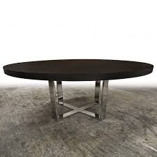 wood and metal round dining table hudson furniture dining tables x metal base