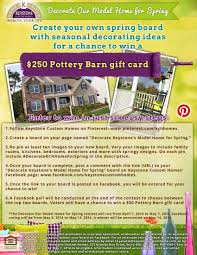 help us decorate our model home for spring create your own