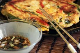 cuisine cor馥nne recettes cuisine coréenne la galette aux légumes kimshii