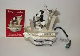hallmark 2003 disney steamboat willie ornament walt disney mickey