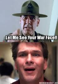 War Face Meme - war face meme by 4fingerprodigy on deviantart