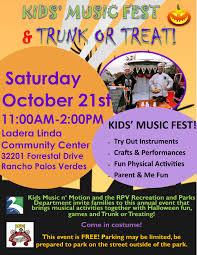 Halloween Events Redondo Beach Visitors Bureau Kid U0027s Music Fest U0026 Trunk Or Treat South Bay By Jackie