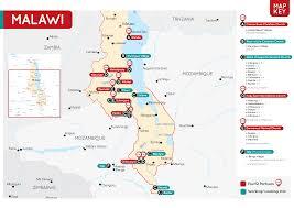 Malawi Map Maps Four12