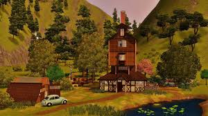 my sims 3 blog the weasleys house