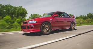 subaru rsti coupe street car of the week justin north u0027s subaru rsti u2013 street race