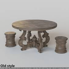 french country round dining table home design
