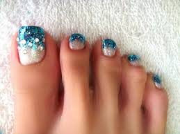 pictures the trendiest toe nail designs for summer glitter